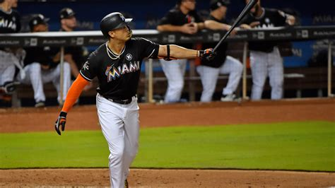 giancarlo stanton says he considers 61 as the true home