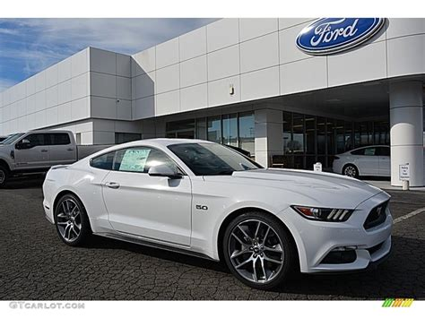 mustang gt colors 2017 2017 oxford white ford mustang gt premium coupe 118061170