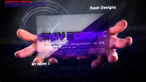 after effects aep after effect template hologram hands aep file youtube