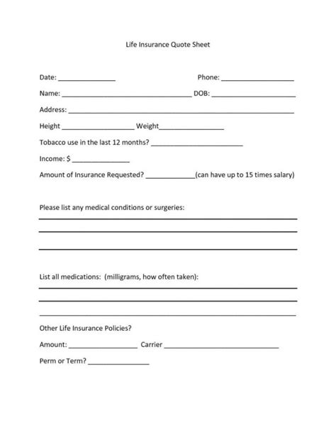 quote sheets templates quote spreadsheet template spreadsheet templates for