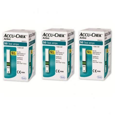 Accu Chek 3 combo accu chek active 3 cxs 50 tiras reagentes