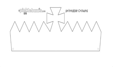 cardboard crown template 21 paper crown templates pdf doc free premium