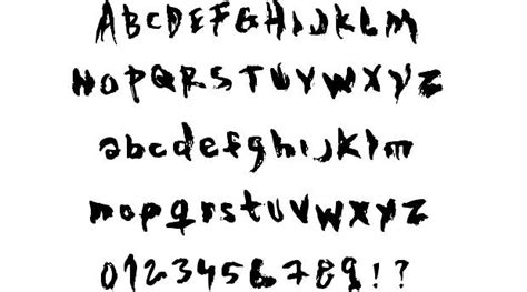 the evil cop font by mr fisk fontriver