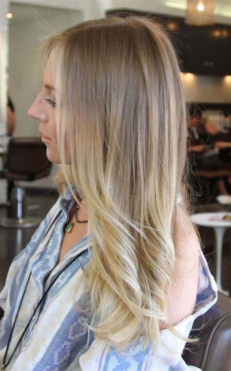 blonde colours ombre working towards this blonde ombre growing out my natural