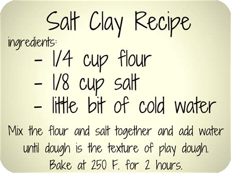 diy salt clay recipe great for jewelry and or ornaments or salt dough 2 cups flour 1 cup