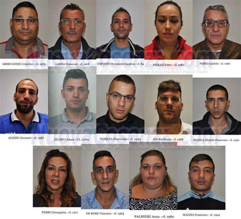 ufficio di collocamento cosenza operazione antidrooga a cosenza 14 arresti della polizia