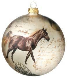 horse boots ornament ball rustic christmas ornaments