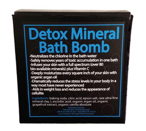 Detox Address by Detox Your Bathbomb Mineral Bath Bomb