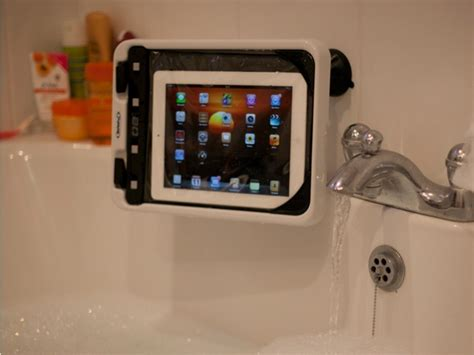 ipad holder bathroom waterproof ipad case boat mount works with most tablets