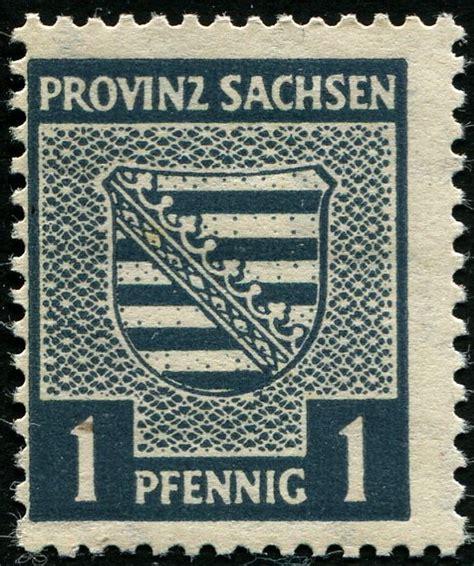 Kertas Segel 83 84 93 Provinz Sachsen Sowjetische Besatzungszone Seite 2