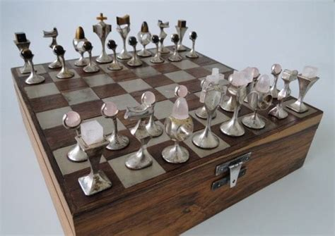art deco chess set 755 best images about mid century and cool chess sets on