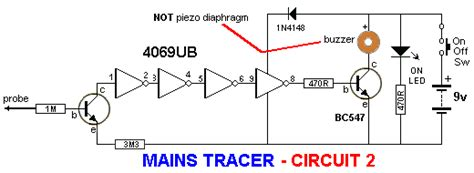 wire tracer circuit diagram cable tracer wiring