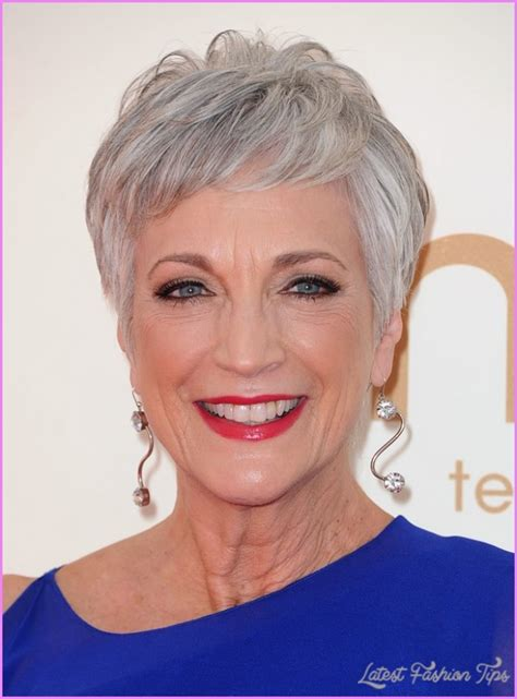 manageable hairstyles for elderly women stylish short hairstyles for older women