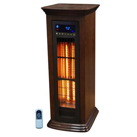 infrared tower heater fan lifesmart air commander all season infrared tower heater