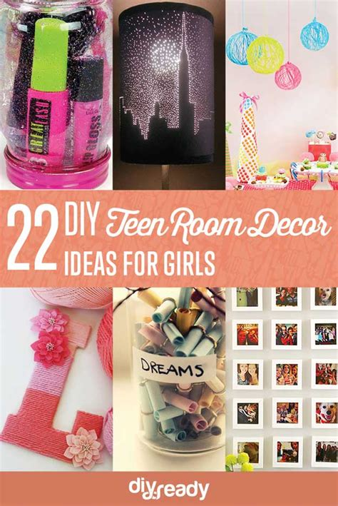 diy teen room decor tips 22 easy teen room decor ideas for girls diy ready