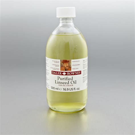 Daler Rowney Purified Linseed 500ml Paint