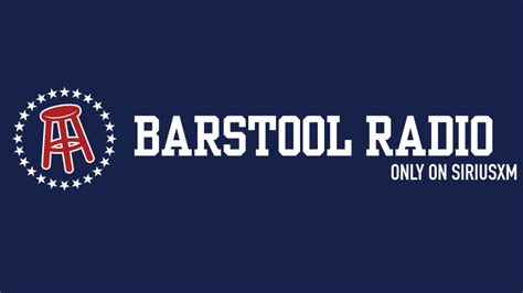 bar stools sports barstool sports teams with siriusxm for new daily show