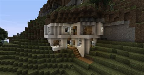 mountain house forum modern house in mountain minecraft project