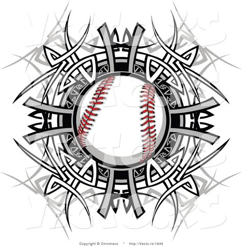 tribal baseball tattoos baseball designs