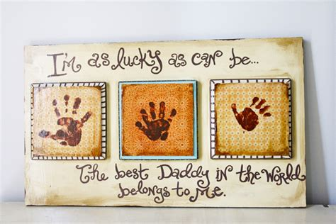 Handmade Fathers Day Presents - best s day gifts to make happy