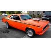 1972 PLYMOUTH DUSTER 360  MOPAR MUSCLE CAR HOT CARS