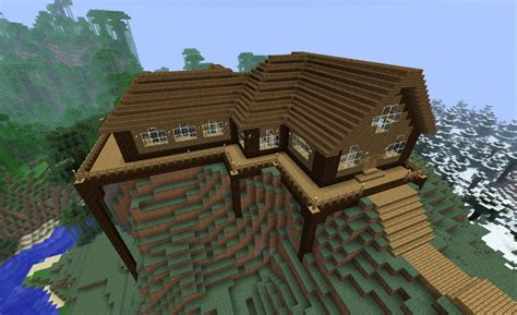 minecraft wooden house design minecraft img for gt minecraft wood house minecraft creations pinterest