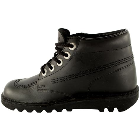 kickers shoes kickers kick hi classic leather office work