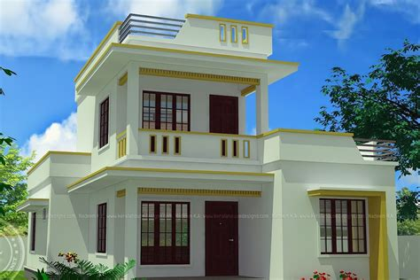 simple house 2 storey modern house design with floor plan modern house