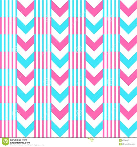 pattern pink and blue chevron pattern seamless vector arrows and stripes design