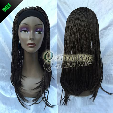 afro twist braid premium synthetic hairstyles for 50 new arrival straight braid with headband wig synthetic