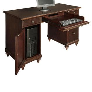 Kmart Desk by Home Styles Espresso Bermuda Pedestal Desk Home