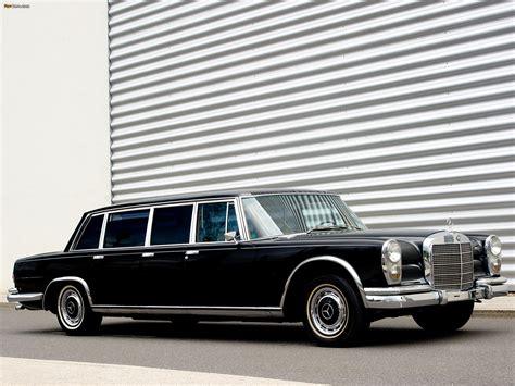 mercedes 600 6 door pullman limousine w100 1964 81