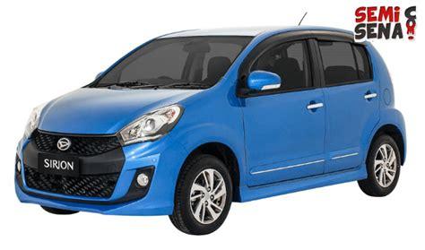 Spion Mobil Daihatsu Sirion harga daihatsu sirion 2017 review spesifikasi gambar semisena