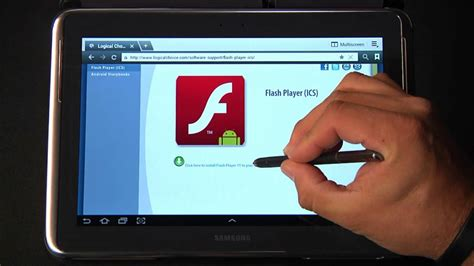 adobe flash player for android tablet free how to install flash on android 4 0 ics tutorial