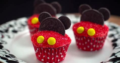 como decorar cupcakes de mickey mouse mickey mouse cupcakes videos metatube