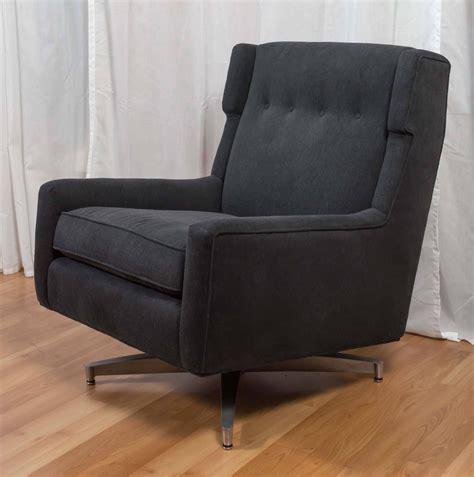 mid century modern swivel chair plush mid century modern upholstered swivel lounge chair