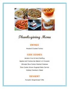 thanksgiving menu ideas hoosier homemade