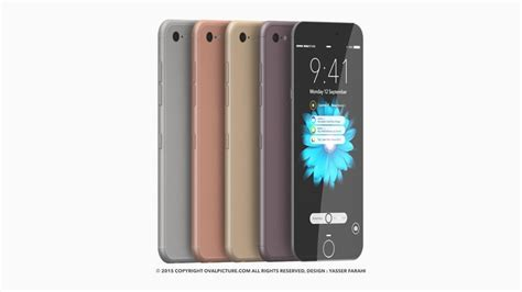 Hp Iphone 7 Concept iphone 7 concept rendered by yasser farahi redefines ultraslim concept phones