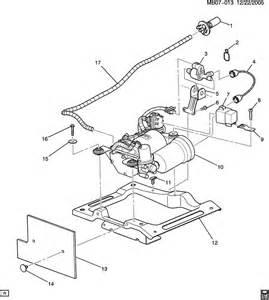 Buick Rendezvous Parts Diagram Buick Rendezvous Level Compressor Automatic