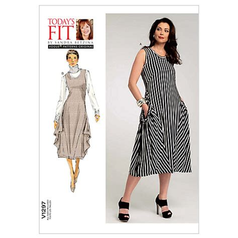 Buy Vogue Sandra Betzina Women's Dress Sewing Pattern