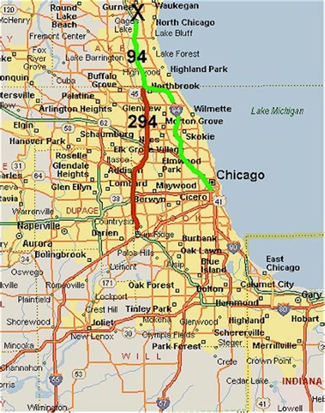 us map with cities chicago chicago illinois map
