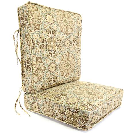 Shop Mineral Deep Seat Patio Chair Cushion At Lowes Com Patio Chair Seat Cushions