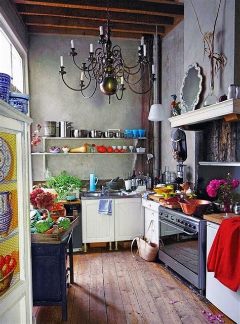 bohemian kitchen design 25 whimsy bohemian kitchens messagenote
