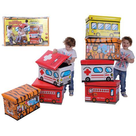 kinder basteltisch mit stauraum aufbewahrungsbox mit deckel faltbox kinder spielzeug kiste