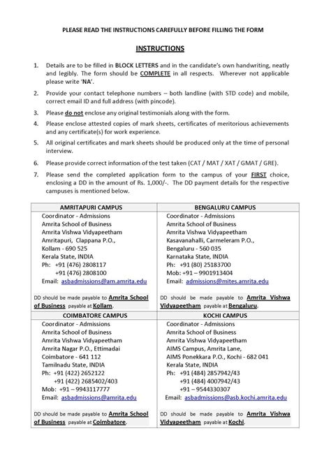 Mat Form Mba by 2018 2019 Student Forum Amrita Mba By Mat