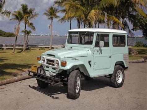 Used Toyota Land Cruiser For Sale By Owner 1968 Toyota Land Cruiser Classic Car By Owner Naples Fl
