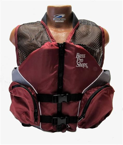 bass pro boat life jackets bass pro shops mesh fishing life vest jacket pfd for