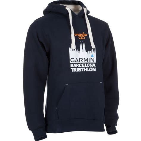 Jacket Sweater Hoodie Barcelona Black Blue wiggle wiggle garmin barcelona triathlon hoody fleeces
