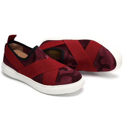 platform sport shoes casual slip on bandage platform athletic sport shoes