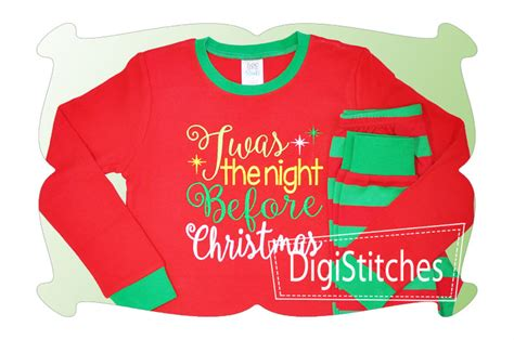 twas the night before christmas digistitches machine